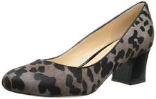 Cole Haan Women's Chelsea Lo Flared Heel Pump,Grey Ocelot Print,9.5 B US