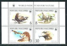 Macedonia 2001 Sc 206 Birds Eagle WWF CV $3.25