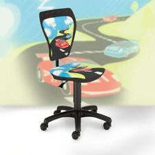 Desk chair kids room boys race car swivel chair office Mini Style TS22 RTS TURBO