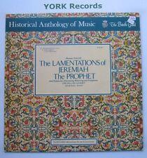 HM-5 - TALLIS - The Lamentations Of Jerimiah The Prophet - Ex Con LP Record