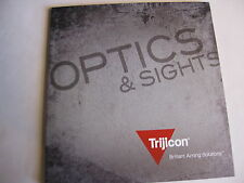 Trijicon Optics Catalog Booklet / 2014 / 130 Pages / New