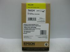 Epson Yellow Ink T6024 Genuine 9800 7880 9880 * SHIPS OVERBOXED * Date: Nov 2019