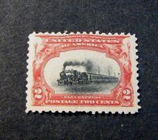 Us Stamp Scott# 295 Empire State Express 1901 Mnh L192