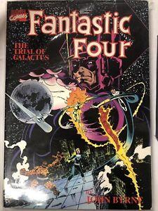 Fantastic Four:  The Trial Of Galactus (1990) Marvel TPB SC John Byrne