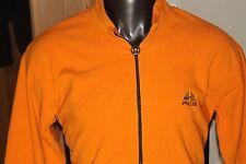 NIKE ACG Men's 1/2 Zip Orange Fleece Jacket Thermal Layer 2 Men's sz XL     #735