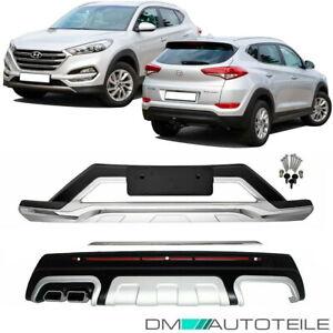 Hyundai Tucson III TLE Stoßstangen Ansatz Diffusor Blende nur für 1.6l Motor