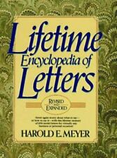 Lifetime Encyclopedia of Letters , Meyer, Harold E.