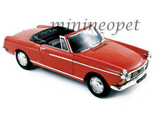 NOREV 184779 1967 67 PEUGEOT 404 CABRIOLET 1/18 DIECAST MODEL CAR CAPANELLE RED
