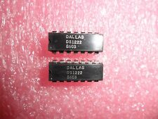 (2 PER LOT) IC, DS1222,  BANK SWITCH CMOS  14-PIN DIP