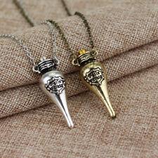 Harry Potter Felix Felicis Potion Liquid Luck Vial BottlePendants Magic Necklace