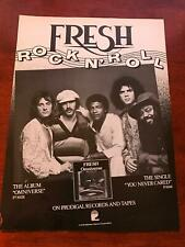 "1979 Vintage 8X11 Album Promo Print Ad for Fresh Rock N Roll ""Omniverse"""