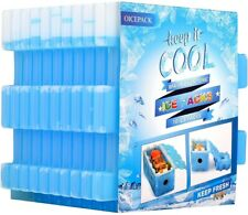 OICEPACK Ice Packs for Lunch Box - Pack of 10 Reusable Freeze Boards for Lunch -