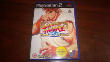 SONY PLAYSTATION 2 PS2 - HYPER STREET FIGHTER II ANNIVERSARY EDITION #G33 BOXED