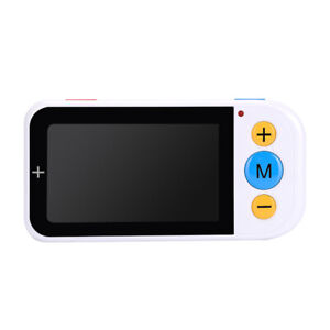 4.3 Inch Handheld Electronic Magnifying Glass Visual Aid Low Vision HD Magnifier
