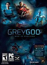 Brand New Sealed Grey Goo: Collector's Edition (PC, 2015)