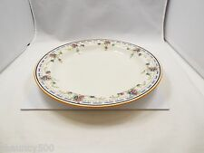 Vintage Royal Doulton Large Round Chop Plate, Floral & Geometric