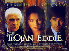TROJAN EDDIE 1996 Richard Harris, Stephen Rea, Brendan Gleeson UK QUAD POSTER