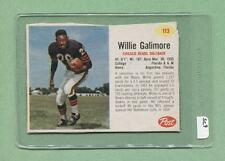 1962 Post #113 Willie Galimore (Bears) (SC9)  Vg  (Flat Rate Shipping)