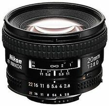 Wide Angle Camera Lens for Nikon AF
