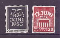 Berlin 1953 - Volksaufstand - MiNr.110/111 postfrisch** - Michel 50,00 € (395)