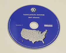 2004 VW VOLKSWAGEN TOUAREG NAVIGATION MAP DISC CD 8 Mid Atlantic VA PA MD DE NJ