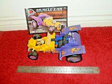 Rare, MEGA BLOKS PRO-BUILDER COLLECTOR SERIES MUSCLE CAR, 9704, 245 PCS, 2001
