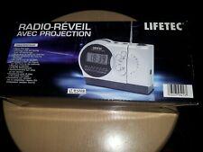 Radio reveil LIFETEC  a projection neuf