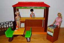 Vintage 1982 Barbie Loves McDonald's Restaurant Play Set~No Dolls~Mattel # 5559