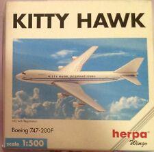 BOEING 747-200F KITTY HAWK scala 1/500 HERPA (502641)