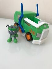 Paw Patrol Rockys All-Stars Recycling Truck & Figure HTF Exclusive
