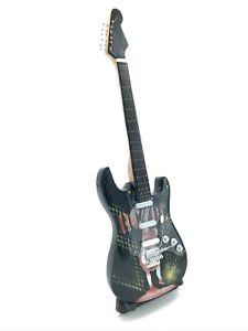 Miniature Fender Standard  Stratocaster Guitar - ACDC 1 (Ornamental)
