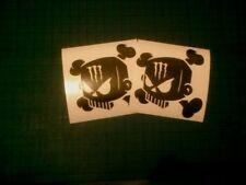 Ken BLOCK 100mm DC  Hoonigan Solid Skull Decals Stickers JDM SUBARU Rally