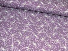 Stenzo Handarbeitsstoffe aus Baumwolle mit geometrischem Muster
