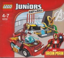 LEGO JUNIORS easy to built 10721 MARVEL IRON MAN VS LOKY  New Nib Sealed