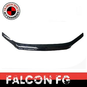 Bonnet Protector Guard to suit Ford Falcon FG 2008-2014 Black Tinted XR XR6 XR8