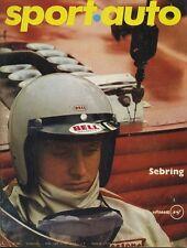 SPORT AUTO n°88 05/1969 12h SEBRING MATRA 530 FIAT 128S AVEC ENCART