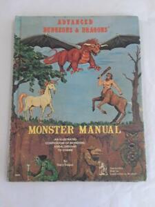Advanced Dungeons & Dragons -Monster Manual- 2nd Ed. (2nd printing)May 1978 TSR