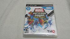 Marvel Super Hero Squad Comic Combat~PS3~U-Draw *Requires U-Draw Tablet*  EUC