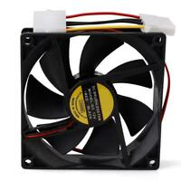 90*90mm DC 12V 4-Pin Cooling Fan Computer Case CPU Cooler Low Noise Fan For PC