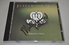 Fleetwood Mac Greatest Hits 2x Mick Fleetwood Signed Autograph CD Classic Rock