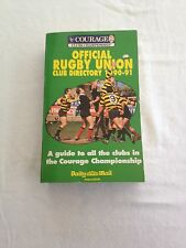 OFFICIAL RUGBY FOOTBALL UNION CLUB DIRECTORY 1990 - 1991