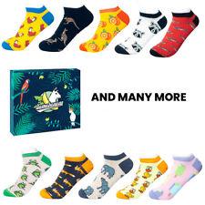 llamabanana® Women Socks in Box Ankle Luxury Premium Quality Cotton Colourful UK