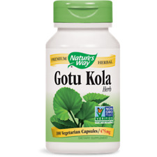 Nature's Way Gotu Kola Herb 475 mg - 100 capsules LONGEVITY, VITALITY