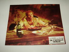 LO CHIAMAVANO TRINITA' FOTOBUSTA TERENCE HILL , BUD SPENCER FRENCH CINEMA POSTER