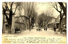 CPA 04 Alpes-de-Haute-Provence Manosque Boulevard des Lices animé