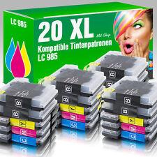 20 Druckerpatronen für Brother LC985 MFC-J 265 W