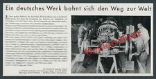 AUTO UNION Rennwagen Silberpfeile Mechaniker Technik Prüfstand Werk Zwickau 1938
