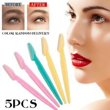 5x Portable Eyebrow Razor Trimmer Face Hair Removal Safety Shaper Shaver Tools