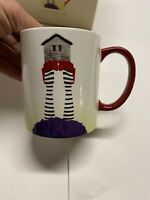 Lenox Shoes To Die For Mug Wizard Of Oz Wicked Witch Dorothy New In Box