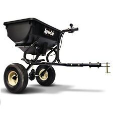 Tow Behind Broadcast Spreader Lawn Seed Fertilizer Home Salt Hopper Tractor ATV